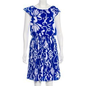 EUC Lilly Pulitzer Blue & White Nautical Dress! 🏝